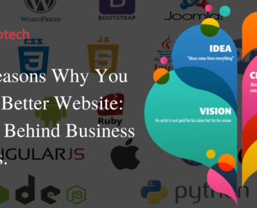 Best Reasons Why You Need a Better Website Reason Behind Business Success.
